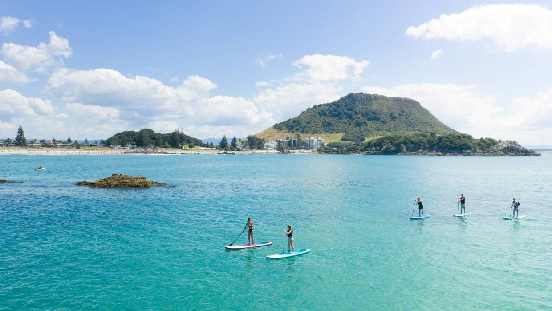 Paddleboarding New Zealand