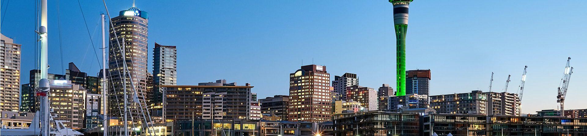 Cities of New Zealand